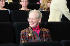 Hendes Majestæt Dronning Margrethe 2. deltog i Afdeling for Dialektforsknings 100-års-jubilæum 20-02-2009