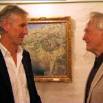 Modtagerne af Modersmål-Prisen 2003 og 2002, Steffen Brandt og Ib Spang Olsen