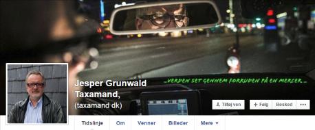 Taxamandens bannerfoto på Facebook: www.facebook.com/jesper.grunwald