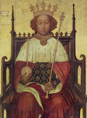 Wikipedia-billede af Richard II, konge af England