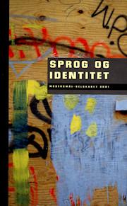 """Forsiden på Modersmål-Selskabets årbog 2001 med titlen """"Sprog og identitet"""""""