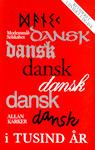 Forside af Allan Karkers Dansk i tusind år