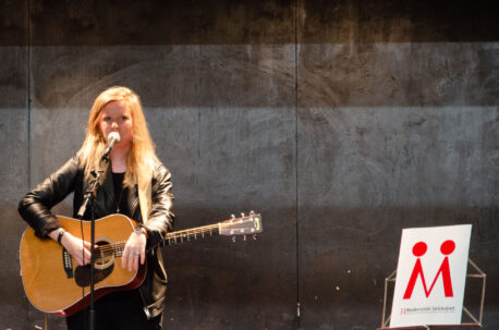 Rikke Thomsen, modtager af Modersmål-Prisen 2019