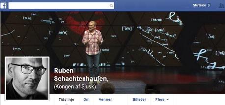 Ruben Schachtenhaufen er Ph.D. i »udtalesjusk«, som måske nok er sjusk, men sjusk med vigtige begrundelser