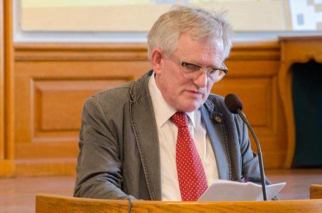 Søren Ulrik Thomsen på Christiansborg